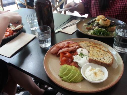charlies breakfast Sydney