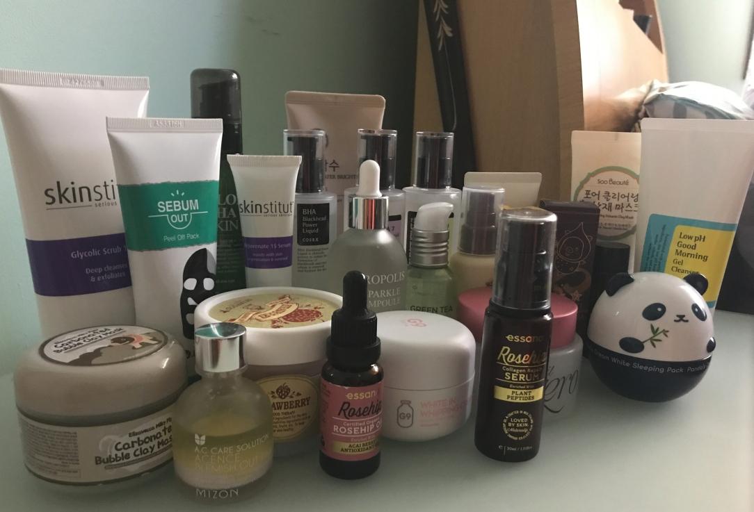 skincare haul