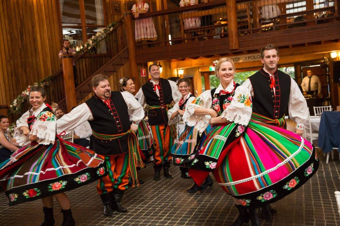 polish folk dance lowicz