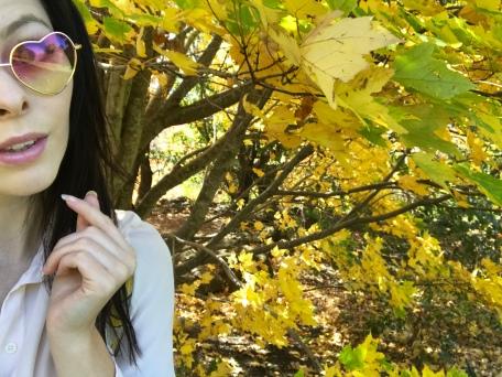 Autumn Tree Selfie